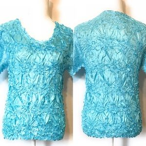 FC blouse, crinkle, stretch